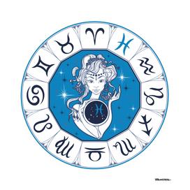 Pisces - Beautiful Girl Zodiac