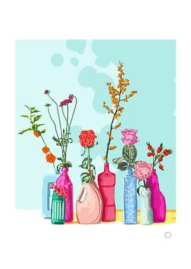 Flower Pots Meadow