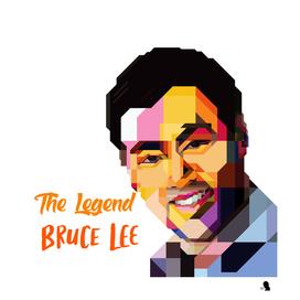 The Legend Bruce Lee_wpap_ilhamdesignart_idart