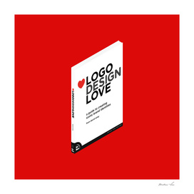 Isometric Book : Logo, Love, Design
