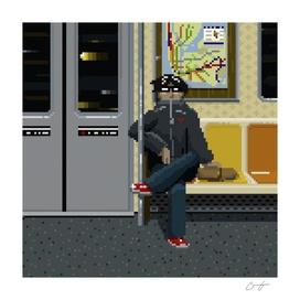 NYC Subway Portrait 001