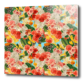 Chaotic Floral Pattern