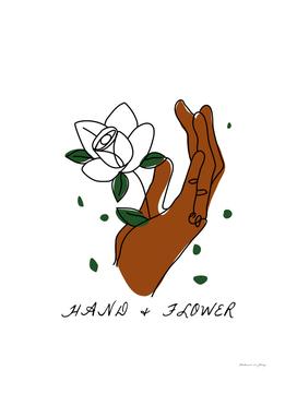 HAND&FLOWER