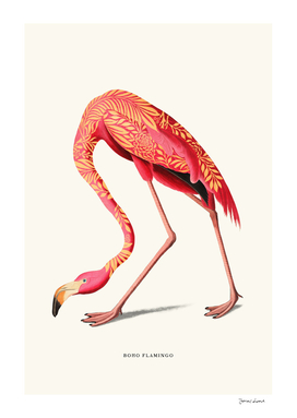Boho Flamingo