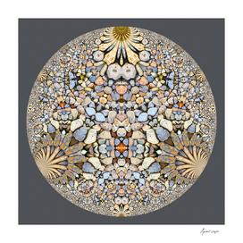 Hyperbolic Gray Pebbles