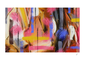 Multicolored abstraction.