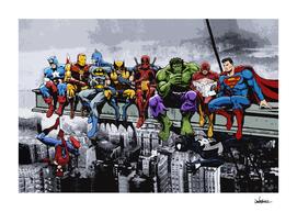 Marvel DC Superheroes Lunch Rendezvous