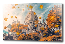 Autumn in Montmartre
