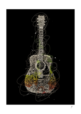 guitar scribbles