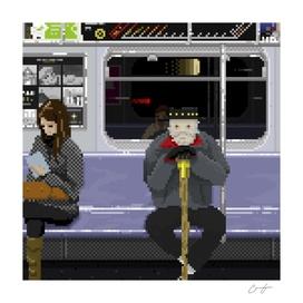 Subway Portrait 005