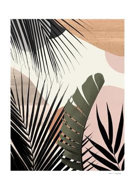Tropical Abstract Banana Palm Oasis #1 #tropical #decor #art