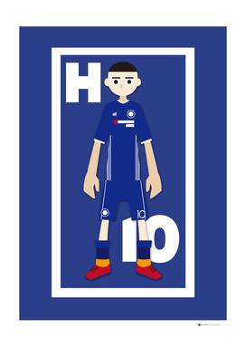Go Goal Your Team Player Hazard 10