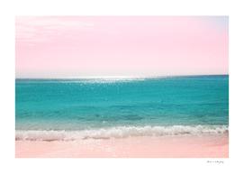 Pastel Ocean Beach Bliss Dream #1 #tropical #wall #decor
