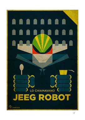 Lo Chiamavano Jeeg Robot Alternative Movie Poster