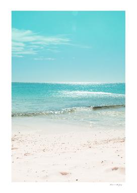 Caribbean Ocean Beach Bliss #2 #tropical #wall #decor #art