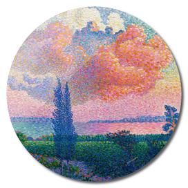The Pink Cloud by Henri-Edmond Cross