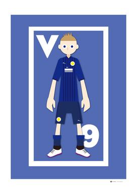 Go Goal Your Team Player Vardy 9
