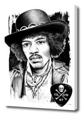 Club 27. Jimi Hendrix