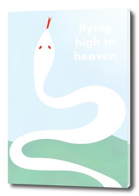 flying high to heaven -white snake-