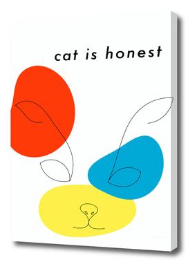 cat is honest