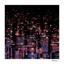 Lights in the favela - Brazil