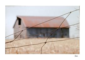 19760413 Barn, Middlefield Rd, fence 2