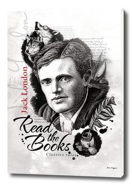 Read the books. Jack London
