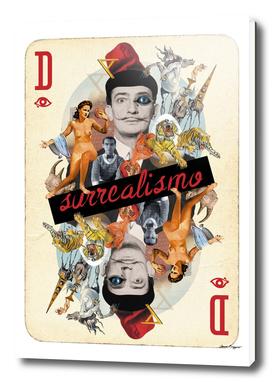Collage cARTs. Salvador Dali