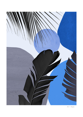 Abstract Banana Palm Leaf Finesse #4 #tropical #decor #art
