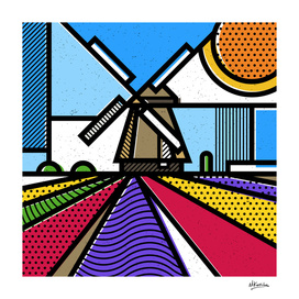 Holland: Windmill