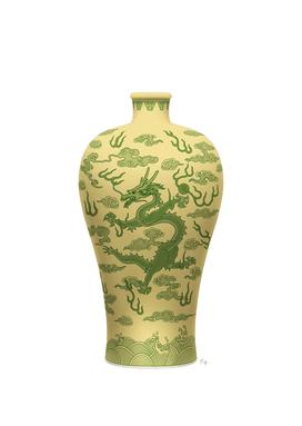 Vase Dragon 2