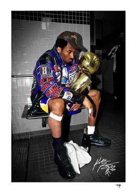 Kobe Bryant 2001 Champion