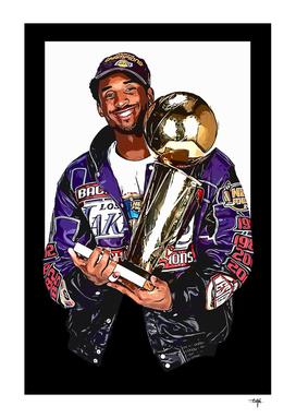 Kobe Bryant Lakers  2001