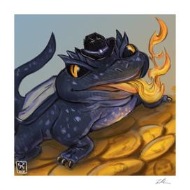 Fiery Fred : Tiny Dragon