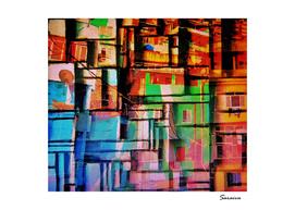 Colors of the favela - Brazil