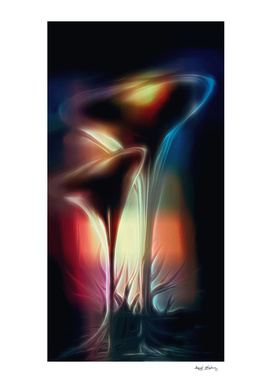 Surreal Tulips