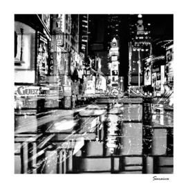 Broadway lights II - NYC