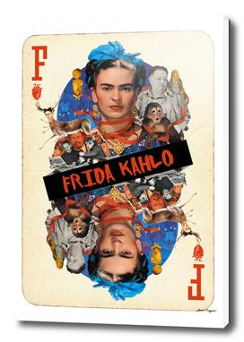 Collage cARTs. Frida Kahlo