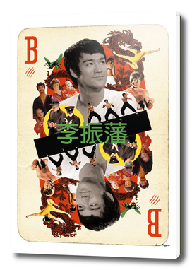 Collage cARTs. Bruce Lee