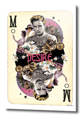 Collage cARTs. Marlon Brando