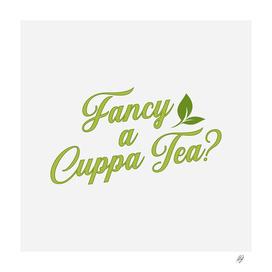 Fancy a Cuppa Tea?