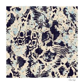 Abstract Animal Skin Print