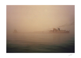 Two Harbors Fog Ship