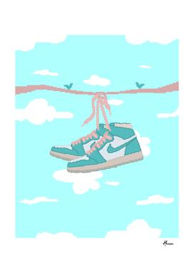 Jordan sneakers fly