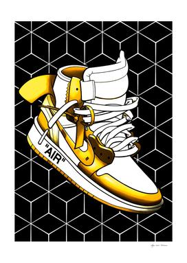 Sneakers Air Jordan Yellow
