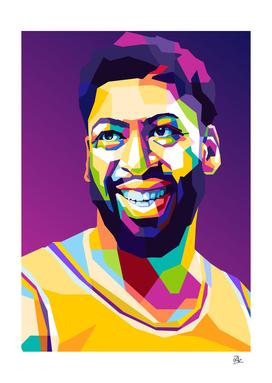 BasketBall Player Pop Art