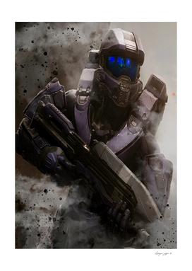 Halo Smoke Effect
