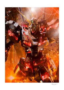 Gundam Unicorn Fire