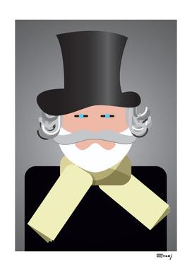Ritratto di Giuseppe Verdi - Giuseppe Verdi portrait
