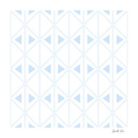 Pattens Blue Art Deco Triangles   Beautiful Interior Design